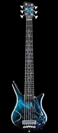 Cool Warwick 6 String Bass