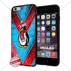 """NCAA Youngstown State Penguins Cool iPhone 6 Plus (6+ , 5.5"""") Smartphone Case Cover Collector iphone TPU Rubber Case Black SHUMMA http://www.amazon.com/dp/B015BAQM1O/ref=cm_sw_r_pi_dp_tYjewb05Q7BJS"""