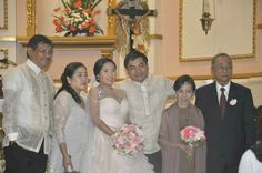 bride and grooms' parents