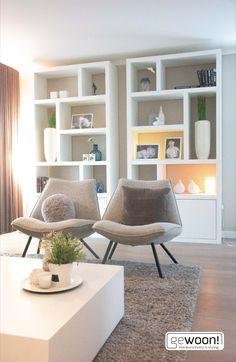 Bookshelf Inspiration, Living Room Inspiration, Interior Exterior, Home Interior Design, Bohemian Living, Home Living Room, Living Room Decor, Beautiful Living Rooms, Simple House