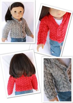 comfy cables variations - Pattern by Doll Tag Clothing at Liberty Jane Patterns