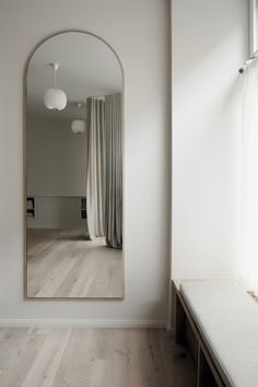 Lullula is a minimalist studio located in Berlin, Germany, designed by Studio Emily Broom Home Room Design, Home Interior Design, Room Ideas Bedroom, Bedroom Decor, Style Deco, Minimalist Room, Aesthetic Room Decor, My New Room, House Rooms