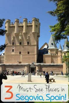 Segovia, Spain is the home of two World Heritage Sites, and there are no less than three iconic places that you have to see while visiting this historic city northwest of Madrid.