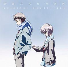 Disappearance of Haruhi Suzumiya Original Soundtrack ANIME MUSIC CD