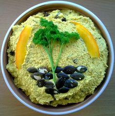 RAW recepty | Dýňová pomazánka s kurkumou | www.rawsuperfood.cz Metabolic Balance, Balanced Diet, Raw Vegan, Metabolism, Hummus, Health, Ethnic Recipes, Food, Turmeric
