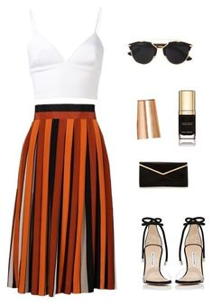 featuring Staud, Givenchy, Christian Louboutin, MICHAEL Michael Kors, Christian Dior and Apple Komplette Outfits, Classy Outfits, Stylish Outfits, Fashion Outfits, Womens Fashion, Ladies Fashion, Spring Outfits, Looks Chic, Mode Inspiration