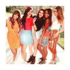 An image of Fifth Harmony ❤ liked on Polyvore featuring fifth harmony and celebrities