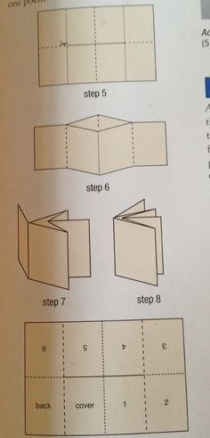 Origami design book folding Ideas for 2019 Up Book, Book Art, Make A Book, Paper Book, Paper Art, Cut Paper, Mini Albums, Book Crafts, Paper Crafts