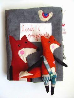 """agatownik - handmade & mobile & przytulanki & softies: """"Lisek i przyjaciele"""" - III nagroda w VIII Konkursie """"Zabawka Przyjazna Dziecku"""""""