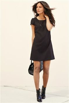 Buy Grey Cut Out Dress from the Next UK online shop
