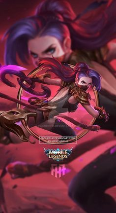 Wallpaper Phone Hanabi Viper by FachriFHR on DeviantArt Mobile Legend Wallpaper, Hero Wallpaper, Moba Legends, Legend Games, The Legend Of Heroes, Mlb, Hanabi, Anime Furry, Warrior Girl