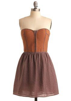 All You Can Bri-oche Dress | Mod Retro Vintage Printed Dresses | ModCloth.com - StyleSays