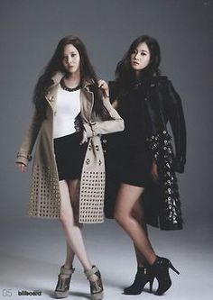 Seohyun and Yuri SNSD ★ Girl Generation for Billboard Magazine