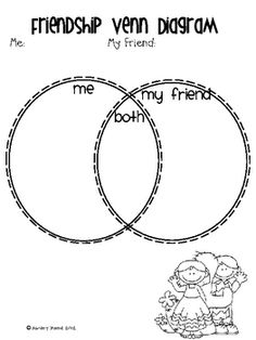 Venn diagram activity pairs well with Whoever You Are by