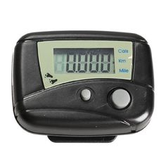 Black Digital 1Pcs Lcd Run Step Movement Run Pedometer Walking Calorie Counter Distance Step Counter *** Check out the image by visiting the link. (This is an Amazon affiliate link)