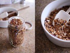 cranberry date granola