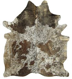Gold glam cowhide!