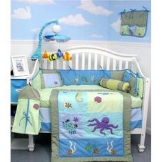 Baby cribs bedding units