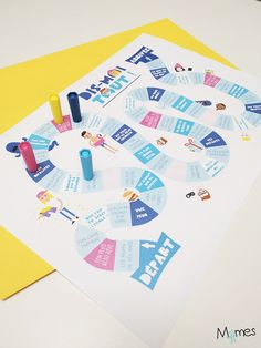 Dis moi tout ! Un jeu de plateau à imprimer pour apprendre à se connaître et favoriser l'expression orale !