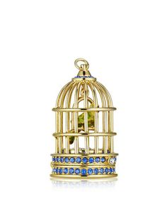 Limited Edition Private Collection Tuberose Gardenia Gilded Birdcage Solid Perfume by Estee Lauder at Neiman Marcus.