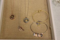 Origami Owl Living Lockets and Core-Shield, Zodiac, Alphabet, Anchor, State Charm, Living Locket