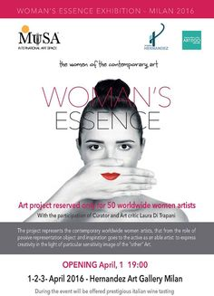 Exhibition Woman's Essence Milan April 2016
