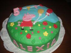 Tarta de Peppa Pig!! Colorida y divertida!!