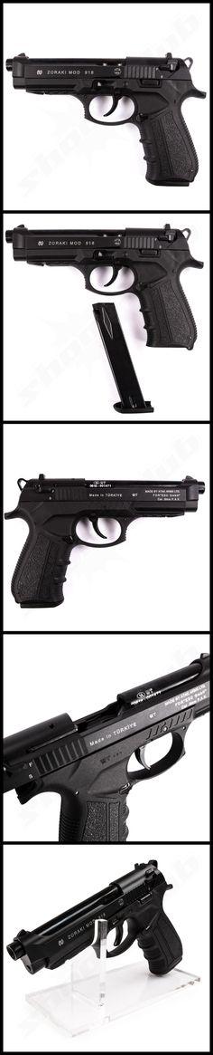 Zoraki 918 Schreckschusspistole Kaliber 9mm P.A.K.   #shootclub #Schreckschuss #pistol #ammunition #zoraki