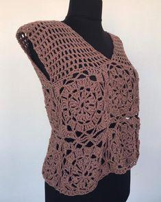 Items similar to Brown Crochet Top / Boho hippie top / crochet blouse / summer top on Etsy Crochet Blouse, Crochet Top, Crochet Summer Tops, Hippie Tops, Bohemian Style, Boho Hippie, Handmade Design, Slow Fashion, Trending Outfits