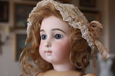 Early and Rare Bebe JUMEAU Triste Long Face, size 9 - Castellidoll