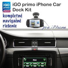 iGO primo iPhone Car Dock Kit