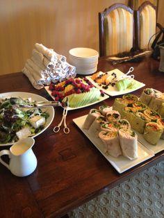 Day Of Bridal Suite Lunch Wedding Lunchwedding Summerwedding Foodswedding