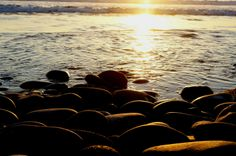 Curvas al atardecer. Playa Altamira, Baja California, México