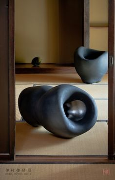 Clay works by Toshimi IMURA, Japan 伊村俊見