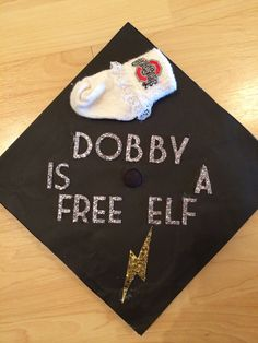 Harry Potter graduation cap for English majors! This might actually be my favourite!