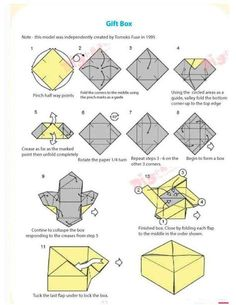 We've always wanted to build origami shapes, but it looked too hard to learn. Turns out we were wrong, we found these awesome origami shapes. Origami And Kirigami, Paper Crafts Origami, Origami Art, Origami Ideas, Origami Patterns, Origami Folding, Oragami, Paper Folding, Printable Origami Instructions