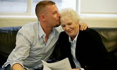 Lee McQUeen and his mother