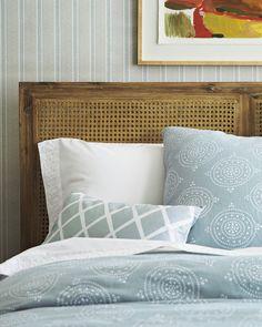 Master Bedroom: Lune Linen Duvet Cover & ShamLune Linen Duvet Cover & Sham