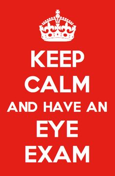 Worthy investment! Keep Calm and have an eye exam || 2020 Optical Store - Best Central London Optician