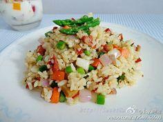 孜然蔬菜炒饭