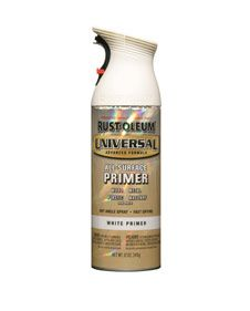 THIS is the primer to use when spray painting furniture. Literally no sanding required, and no bumpy sand paper feel after the primer has dried.