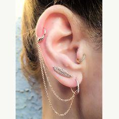 E-snake chain earpiece