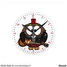 Clock. Owls.