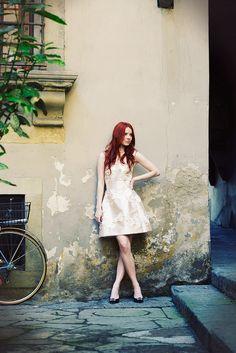 Sea of Shoes' Jane Aldridge in Florence