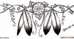 Native American Wrist Tattoo-- I like the general idea of this but it would need to have quite a bit more work and lots of color for me to love it. A nice start here to a great idea.