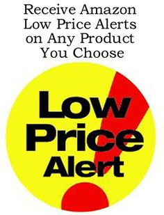 Receive Amazon Low Price Alerts on Any Product You Choose http://www.ebay.co.uk/itm/How-To-Receive-Alerts-When-Any-Amazon-Product-You-Choose-Reaches-A-Low-Price-/171816643214?