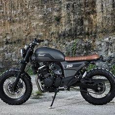 Welcome THE BANDIT - 2012 Suzuki GW250 Inazuma on Studio Motor ••#kustom #kustombike #kustomkulture #handmade #buildnotbought #custommotorcycle #motorcycle #lifestyle #life #scrambler #scramblertracker #scramblermotorcycle #tracker #suzuki #suzukiinazuma #inazuma #gw250 #studiomotordesign #studio_motor #studiomotor #jakarta #bali #indonesia