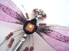 UK artist transforms salvaged circuit boards into gorgeous lifelike insects Recycled circuit bugs by Julie Alice Chappell – Inhabitat - Green Design, Innovation, Architecture, Green Building