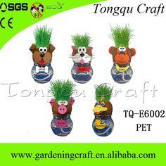 Grass Head,Rermiculite Souvenir,Bonsai pot.  http://www.alibaba.com/product-detail/Amusing-Mr-Grass-Head-Small-Unique_60261285658.html