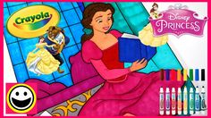 Beauty & The Beast - Princess BELLE - Crayola COLOR BY NUMBER - Disney P...
